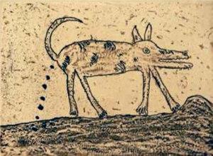 Feral Dog by Dean Bowen