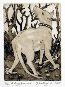 A Dog's Treasure by John Ryrie