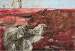 Leon Golub_Dog andSkull_2004