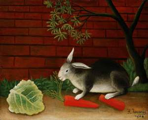 Rabbit by Henri Rousseau