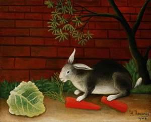 Rabbit by Henri Rousseau