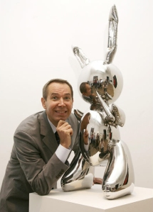 Rabbit by Jeff Koons