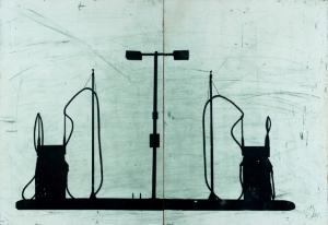 Alexi Keywan, Sometime, Someplace, etching