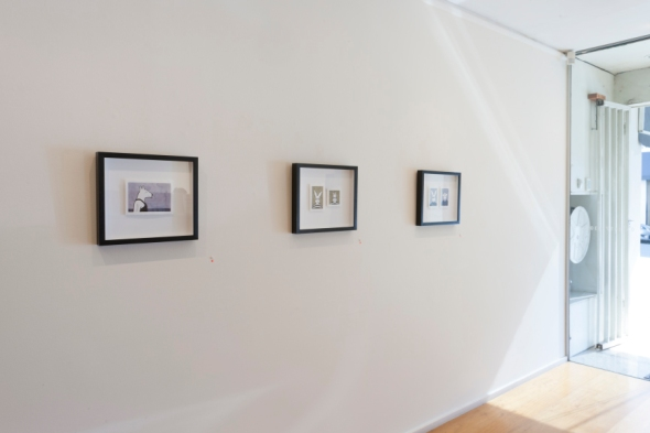 'Pearl', 'Vilém and Ludwig Jüngere' and 'Krzysztof and Rozhenko', 2013, pencil and ink drawings on paper by Rona Green