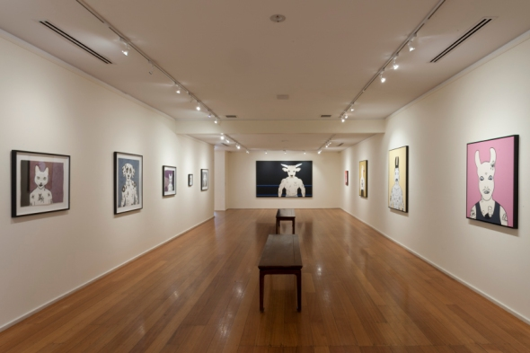 View of the exhibition 'No Cure For Life' by Rona Green