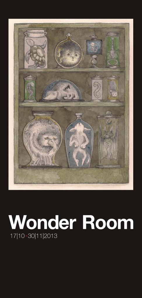 Wonder Room exhibition invite_front