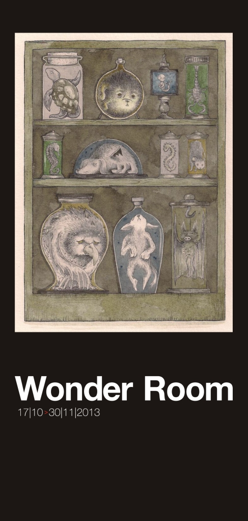 Wonder Room exhibition invite_front