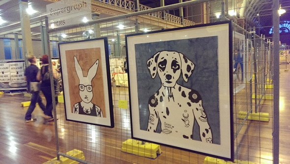 Rona's prints on exhibition as part of Supergraph Picks