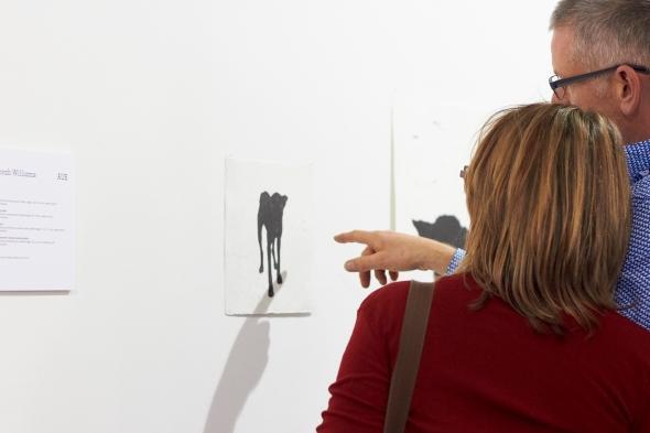 John Callaghan and prints by Deborah Williams