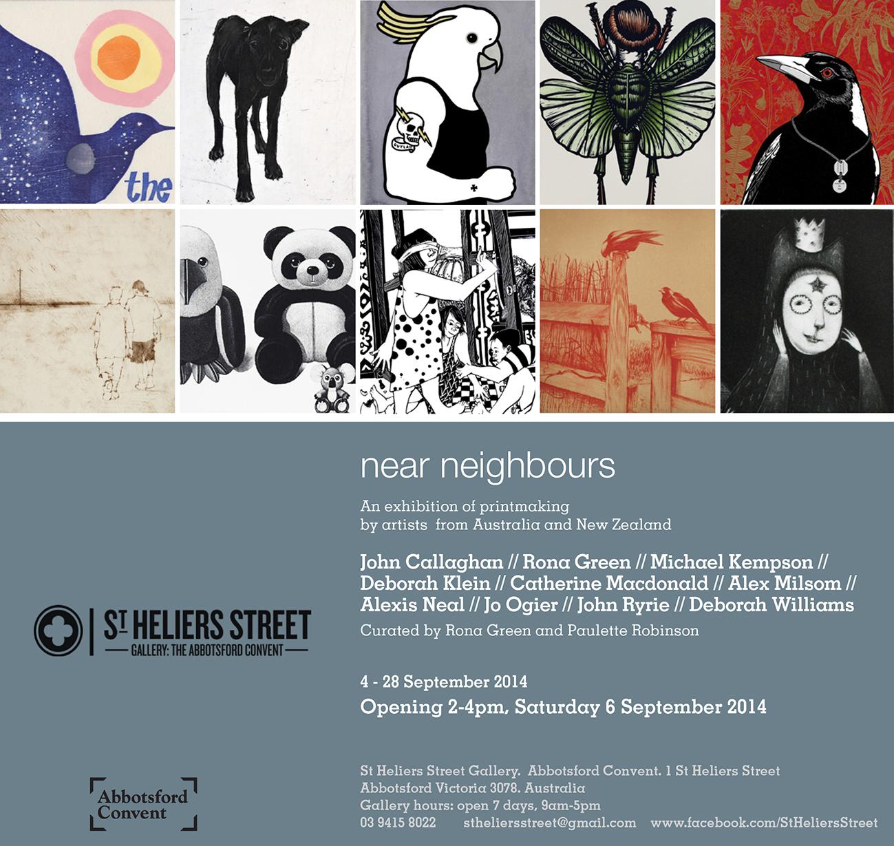 St Heliers Street Gallery Rona Green